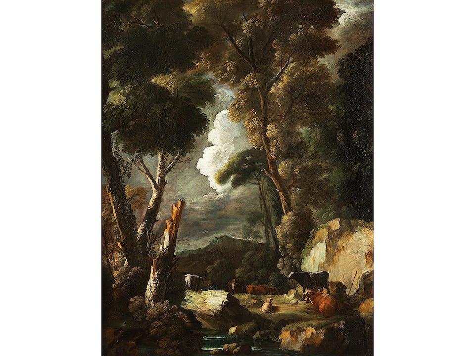 Marco Ricci, 1676/79 Belluno – 1729/30 Venedig, zug.