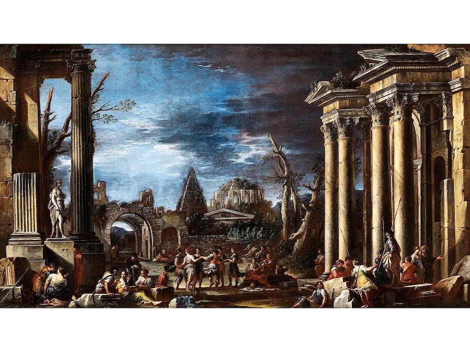 Domenico Roberti, Rom 1642 – 1707