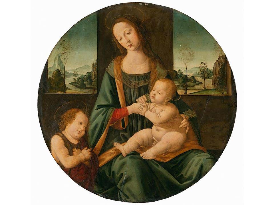 Tommaso di Credi, ein Florentiner im 15.-16. Jahrhundert tätiger Meister