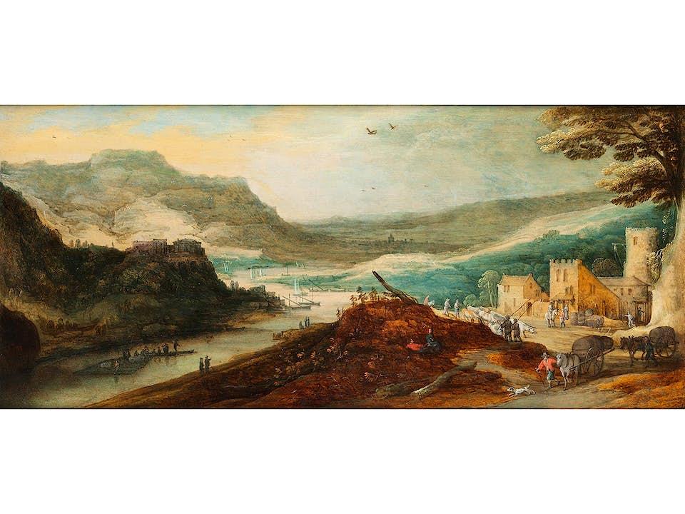 Joos de Momper, d. J., 1564 Antwerpen – 1635 ebenda