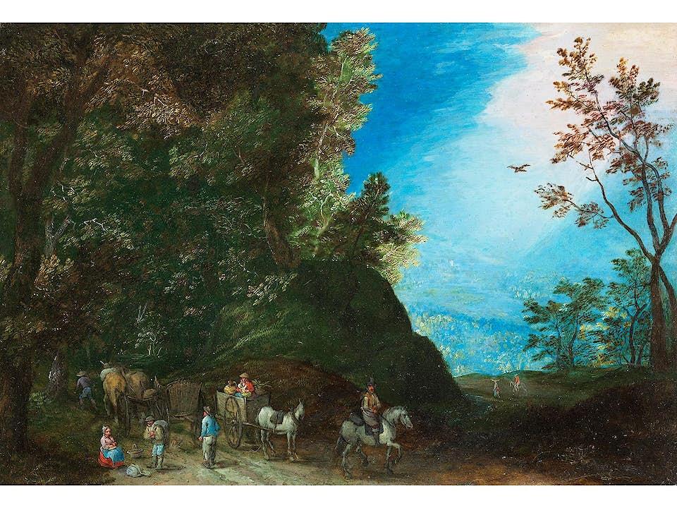 Jan Brueghel d.J., 1601 Antwerpen – 1678 ebenda
