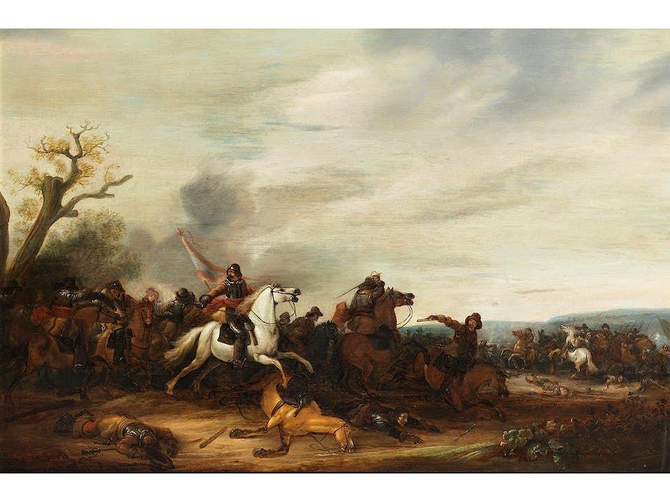 Abraham van der Hoef, 1611/ 12 – 1649
