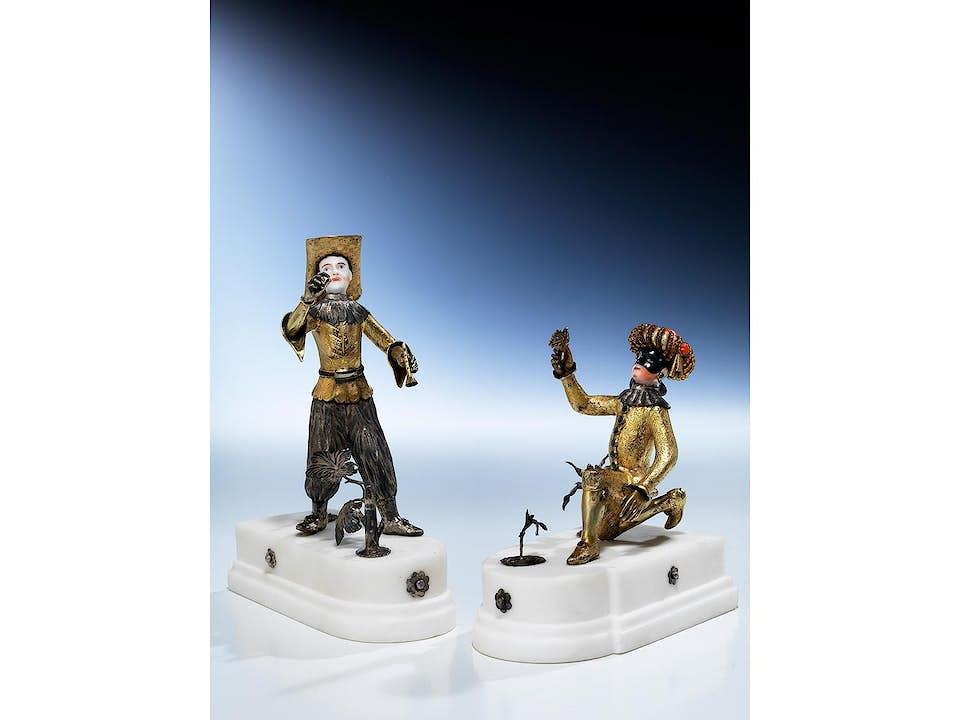 Paar Kunstkammerfiguren
