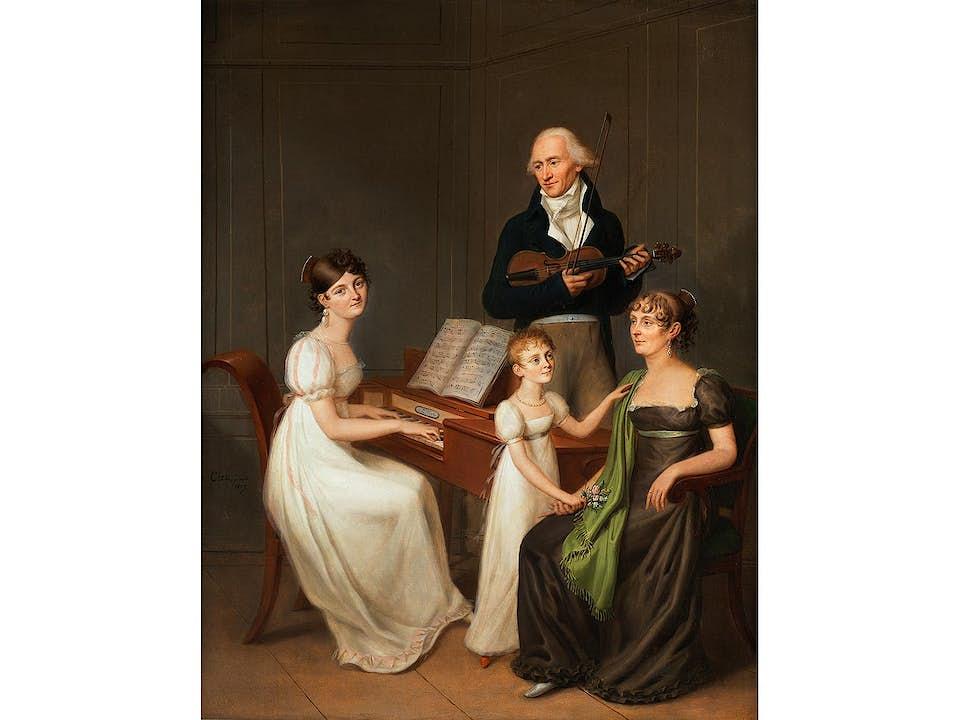 Klassizistischer Maler des beginnenden 19. Jahrhunderts