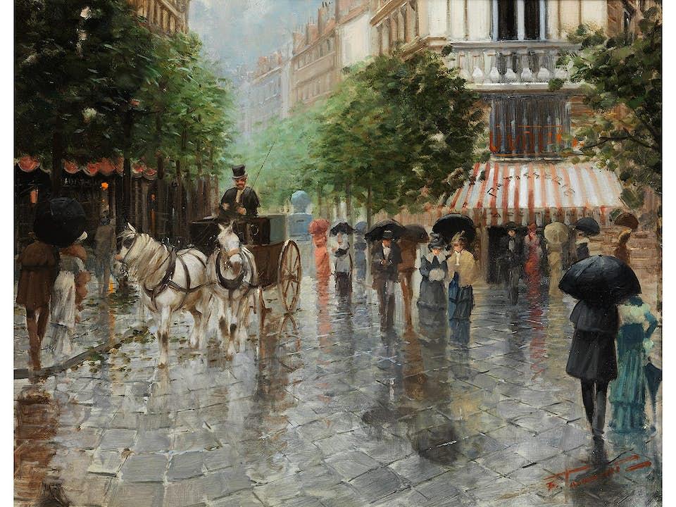 Fernand Toussaint, 1873 Brüssel – 1955/56