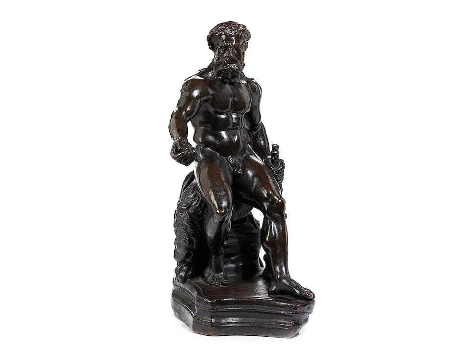 Sitzender Herkules