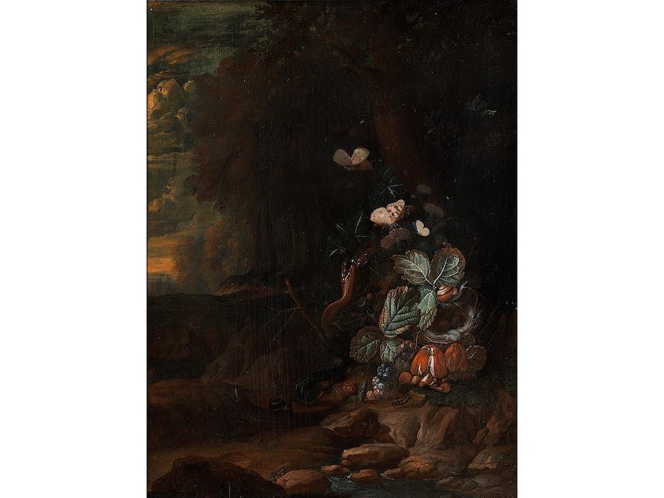 Otto Marseus van Schrieck, um 1619 Nimwegen – 1678 Amsterdam, Nachfolge