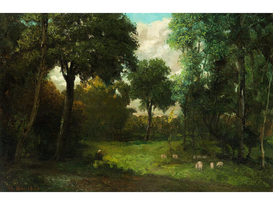 Gustave Courbet, 1819 Ornans – 1877 La Tour de Peilz