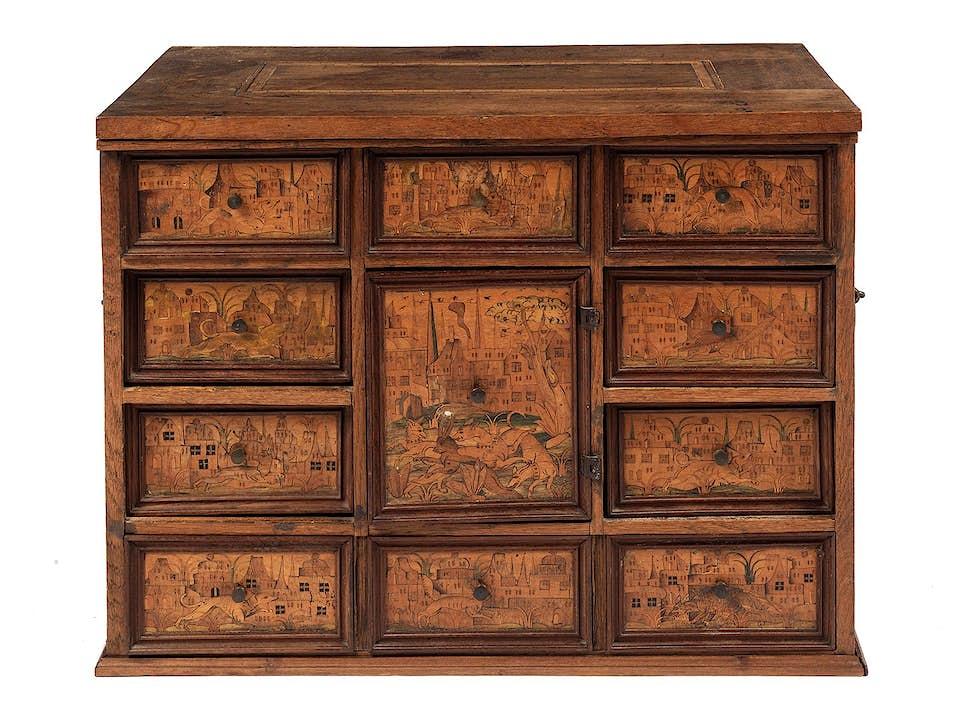 Renaissance-Kabinettschränkchen