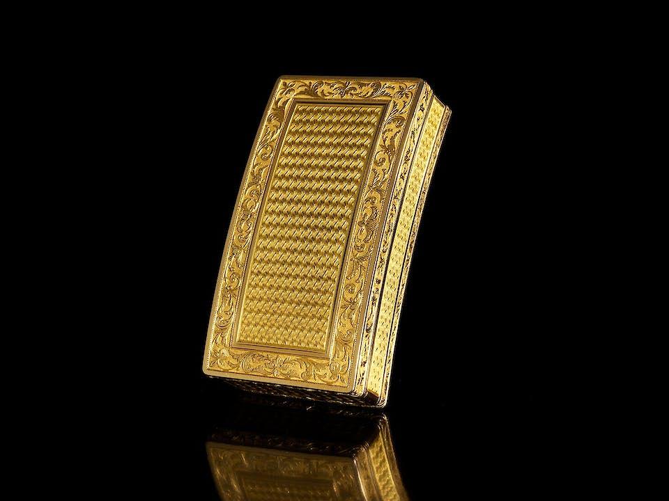 Pariser Empire-Golddose