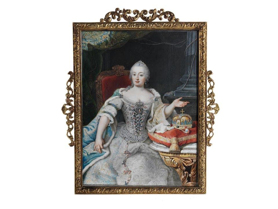 Miniatur der Maria Theresia von Österreich