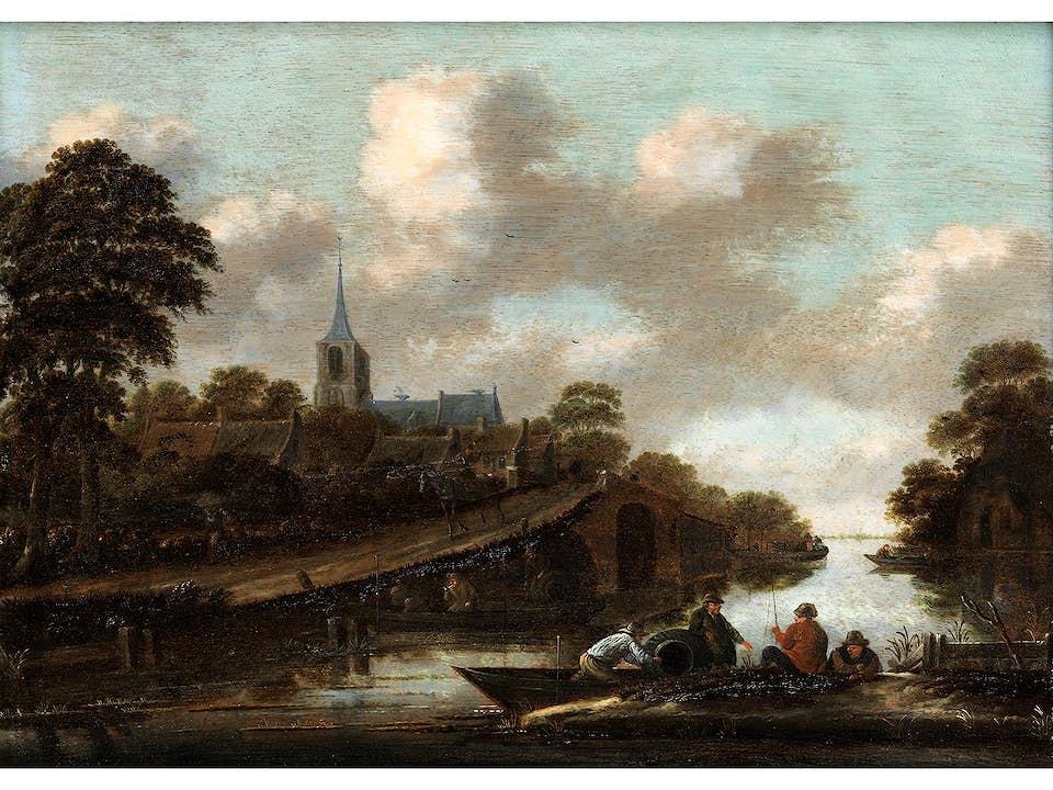 Klaes Molenaer, um 1630 – 1676 Haarlem, zug.