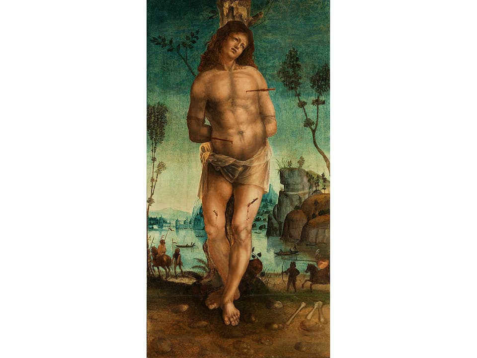 "Francesco Galli, genannt ""Francesco Napoletano"", tätig um 1485 – 1501, zug."