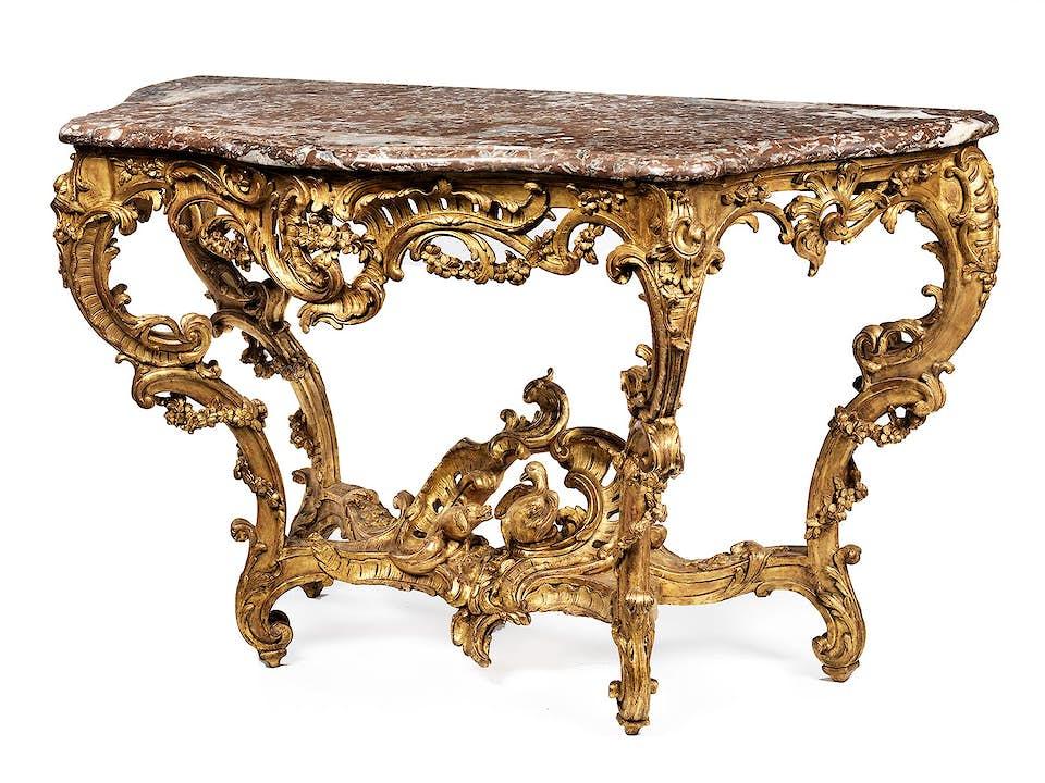 Große Louis XV-Konsole