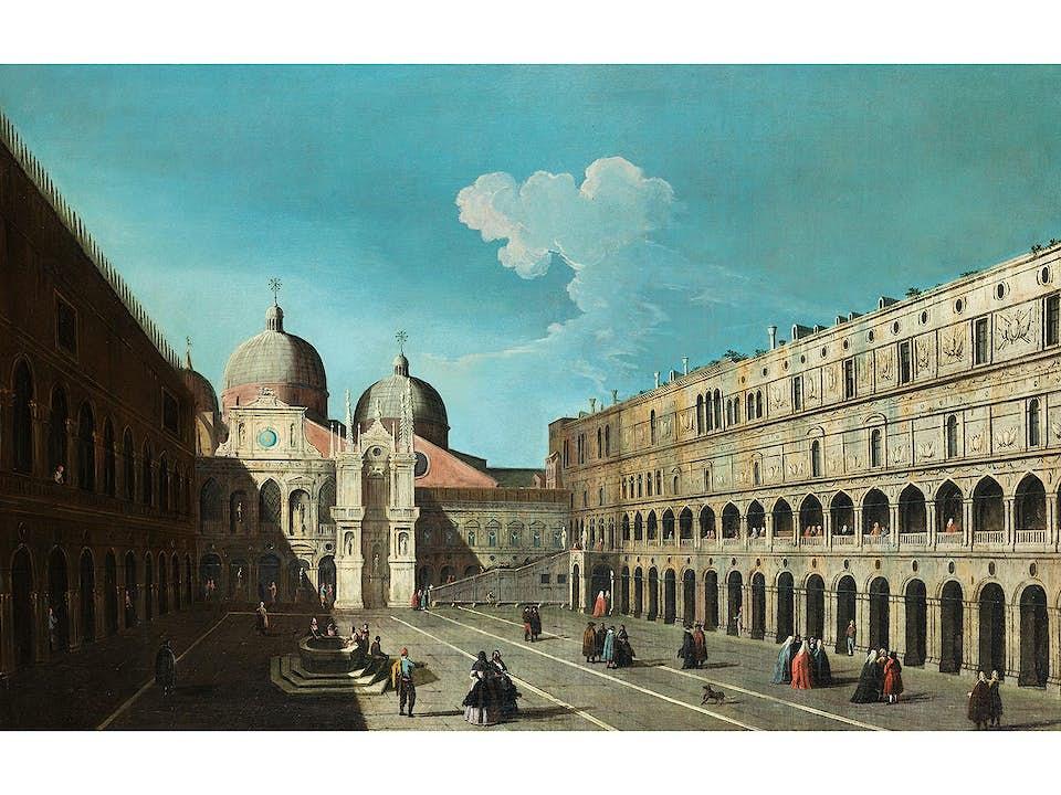 Bernardo Canal, 1674 Venedig – 1744, zug.