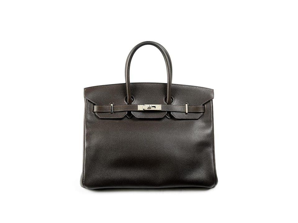 """Hermès Birkin-Bag, 28 cm """"Dunkelbraun"""""""