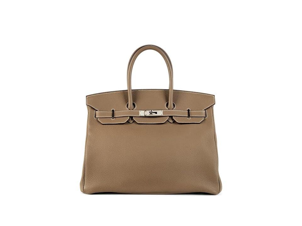 """Hermès Birkin-Bag, 35 cm """"Sandfarben"""""""