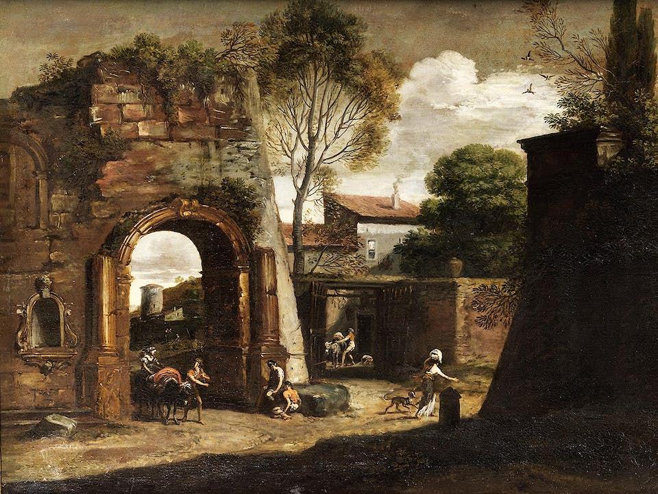 """Filippo d'Angeli, genannt """"Il Napoletano"""", um 1589 Rom – 1629"""