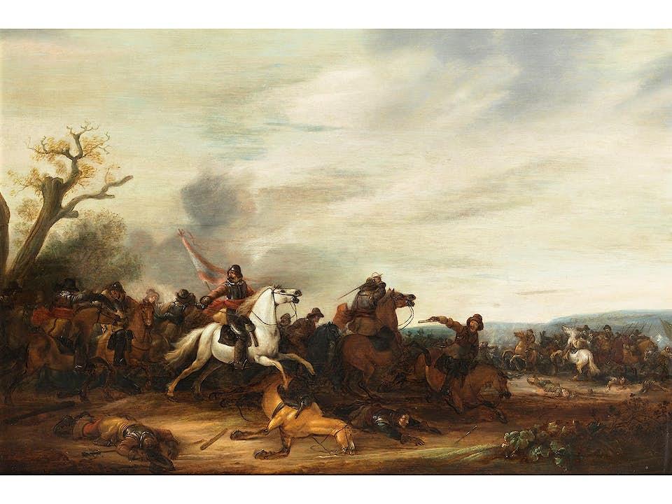 Abraham van der Hoef, 1611/12 – 1649