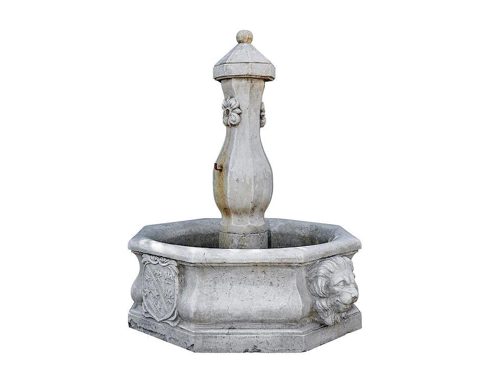 Eleganter Marmorbrunnen