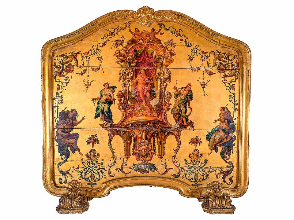 Louis XV-Kaminschirm