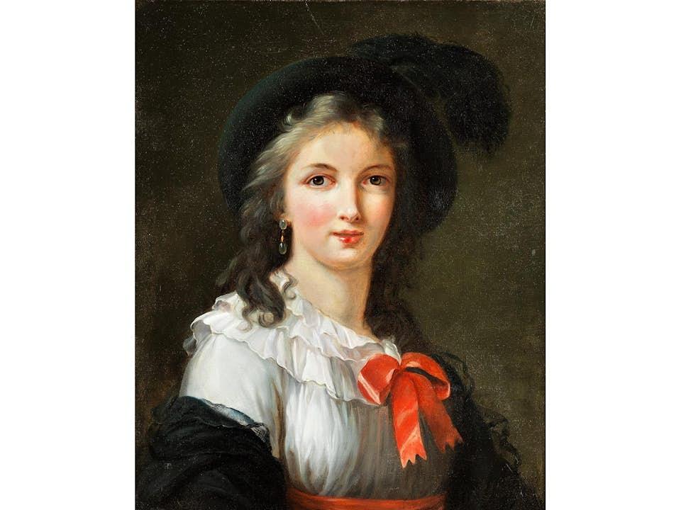 Elisabeth Vigeé-Lebrun, 1755 Paris – 1842 ebenda, Werkstatt