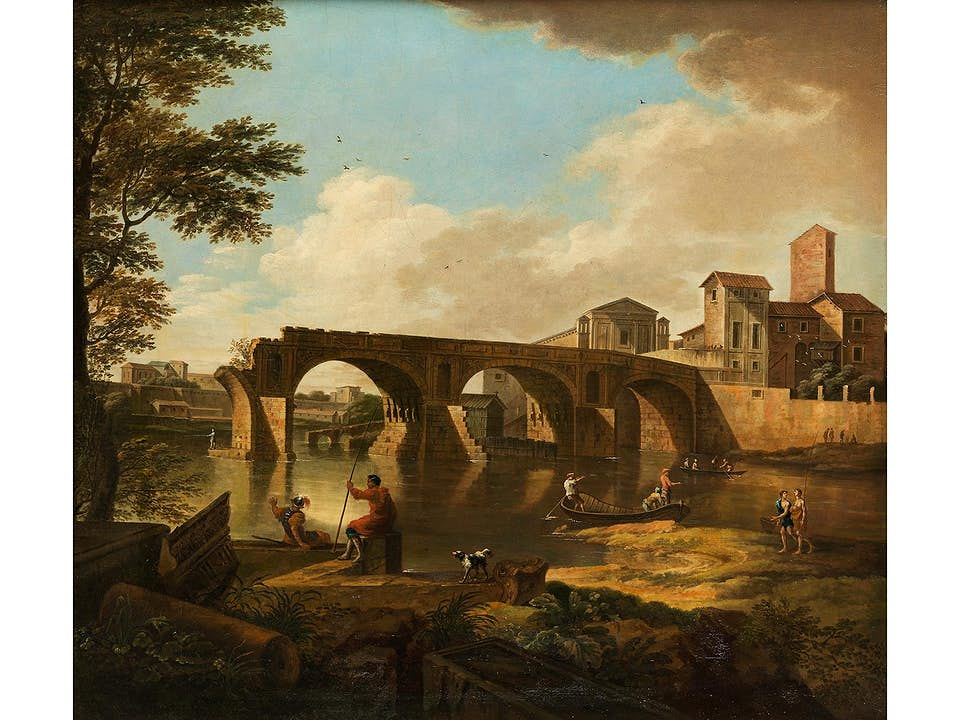 Italienischer Vedutenmaler des ausgehenden 18. Jahrhunderts