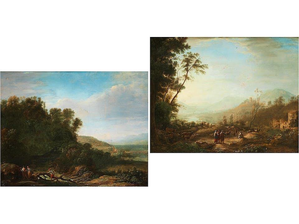 Claude Lorrain, 1600 Chamagne – 1682 Rom, Art des
