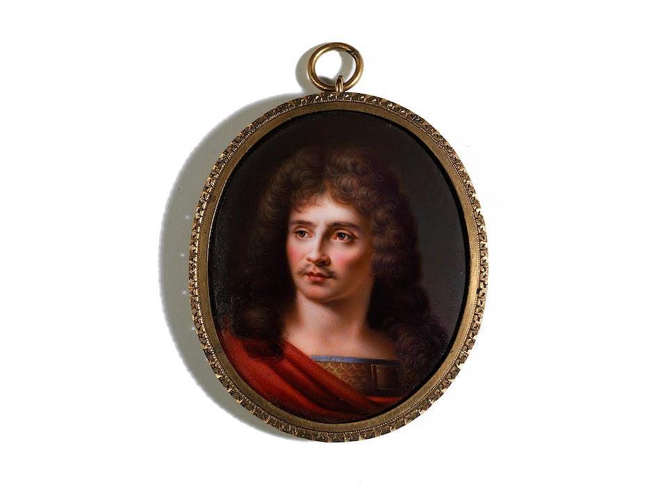 Miniaturportrait des Molière