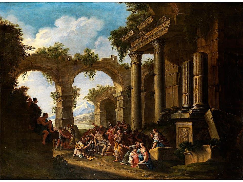 Italienischer Meister des 18. Jahrhunderts in der Nachfolge des Giovanni Paolo Panini (1691 – 1765)