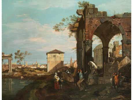 "Giovanni Antonio Canal, genannt ""Canaletto""', 1697 – 1768 Venedig"