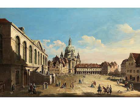 "Bernardo Bellotto, genannt ""Canaletto"", 1721 Venedig – 1780 Warschau"