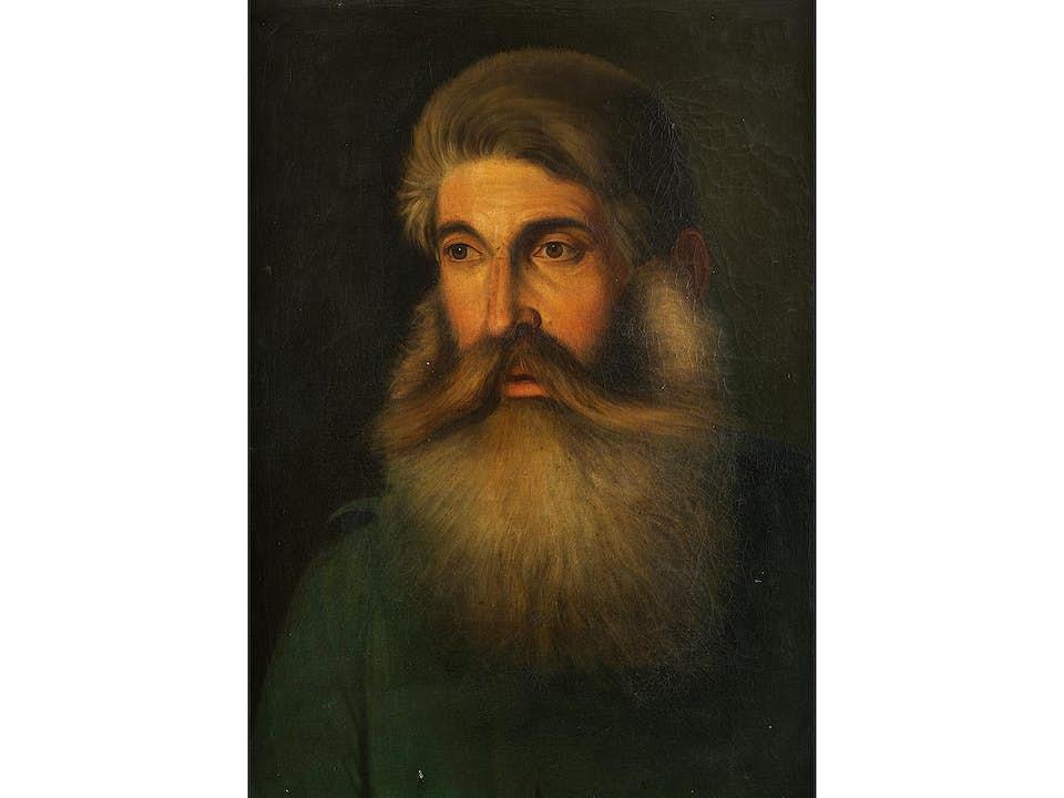 Portrait eines Bärtigen