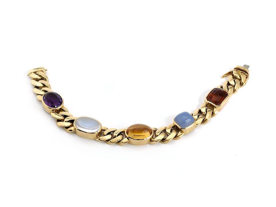 Multicolor-Goldarmband