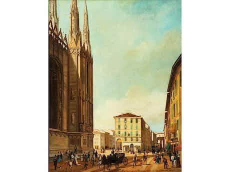 Angelo Inganni, 1807 Brescia – 1880 Gussago