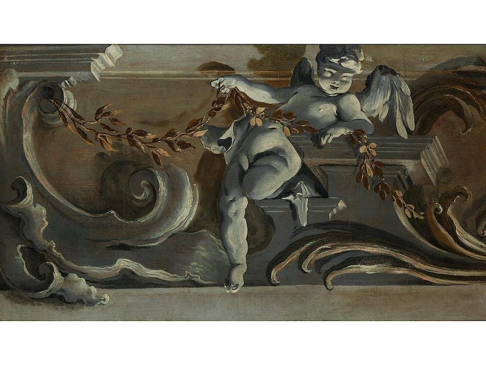 Giovanni Battista Crosato, um 1697 Venedig – 1756/58, zug.
