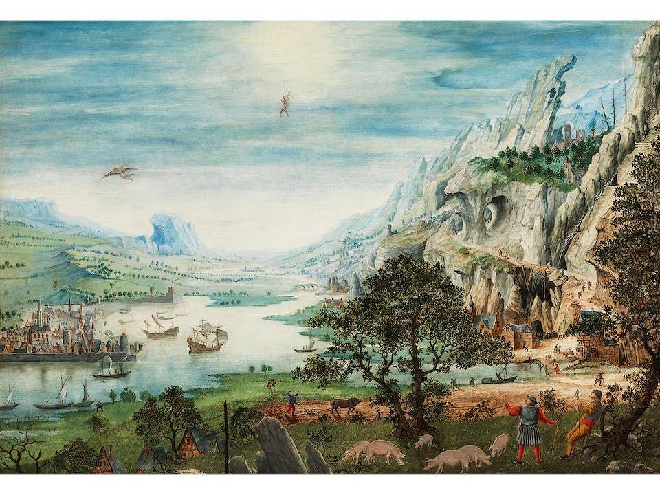 Jan van Stinemolen, Mecheln 1518 – 1589, zug.