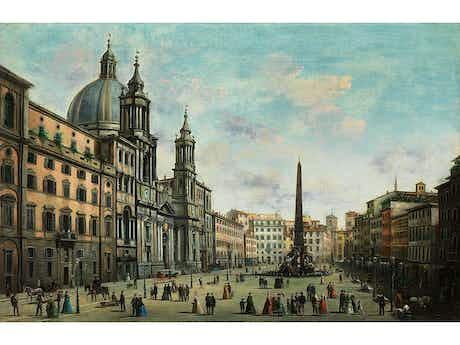 Giuseppe Bison, 1809 Triest – 1883 Mailand