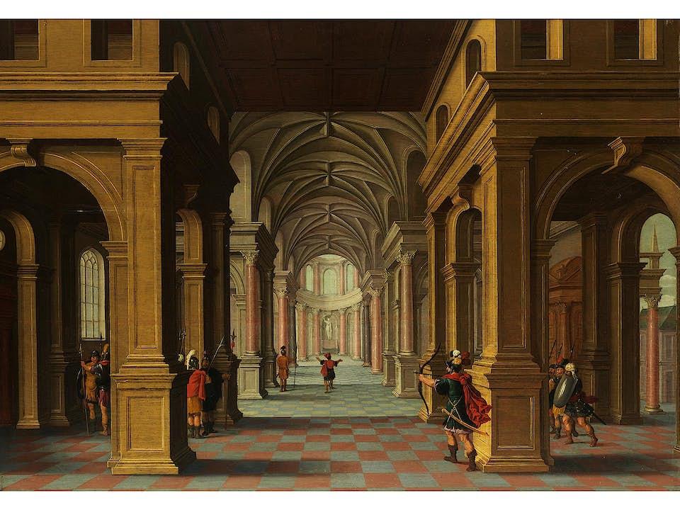 Dirck van Delen, 1605 Heusden – 1671 Arnemuiden, zug.