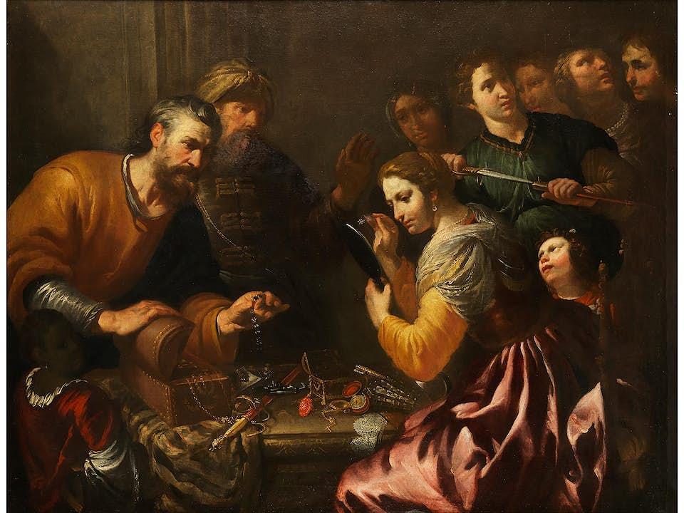 Gioacchino Assereto, 1600 – 1649, zug.