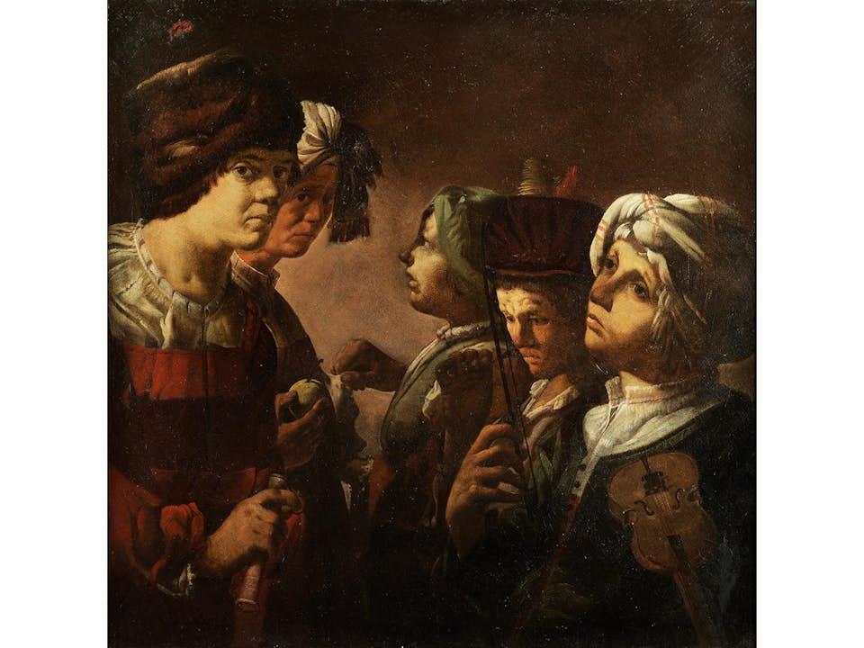 Hendrick ter Brugghen, 1588 – 1629, zug.