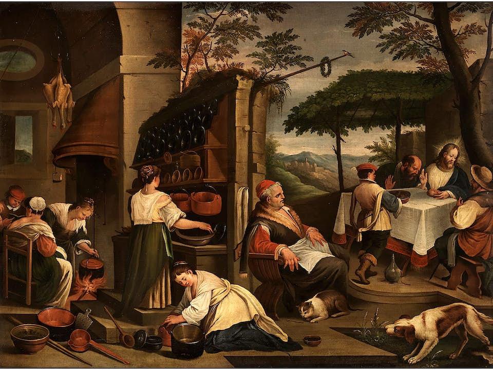 Leandro Bassano, 1557 Bassano del Grappa - 1622 Venedig, zug.