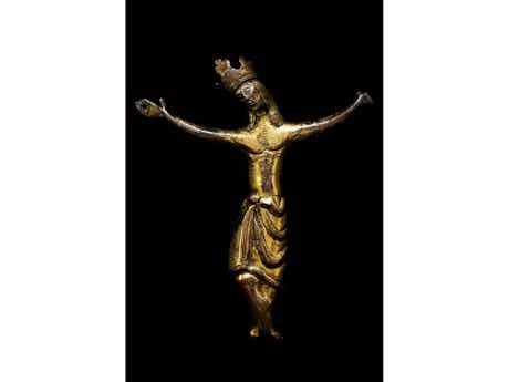 Romanische Christusfigur
