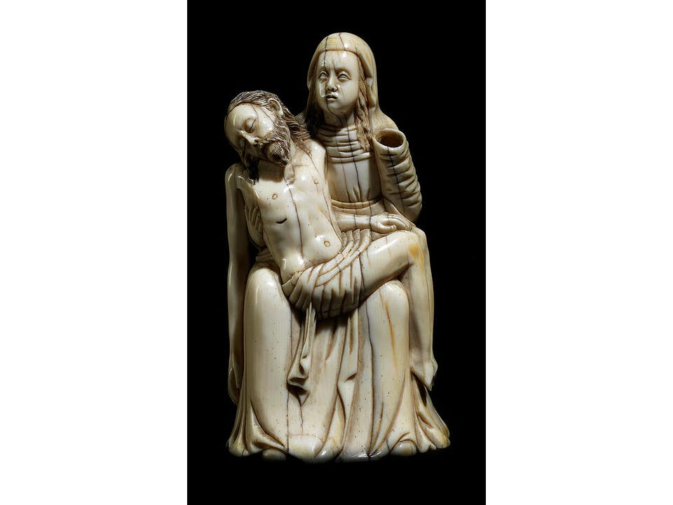 Elfenbein-Pietà