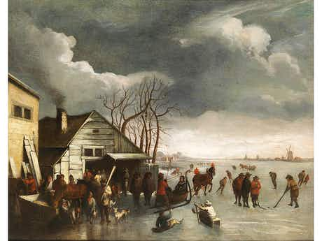 Nicolaes Claes Fr. Hals, 1628 Haarlem – 1686, zug.