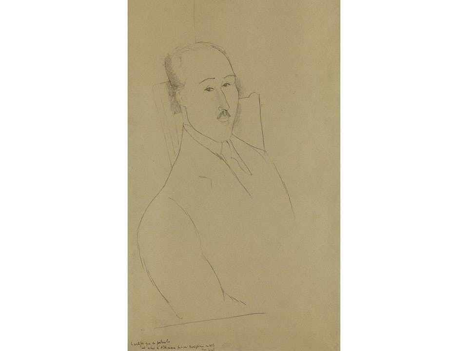 Amedeo Modigliani, 1884 Livorno - 1920 Paris