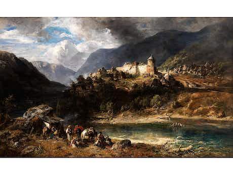 Carl Ebert, 1821 Stuttgart – 1885 München