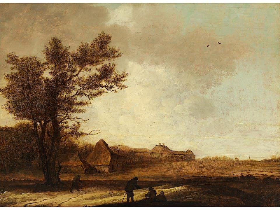 Anthony Jansz van der Croos (1606/07 - um 1665) und Jacob van der Croos (um 1635 - um 1700), zug.