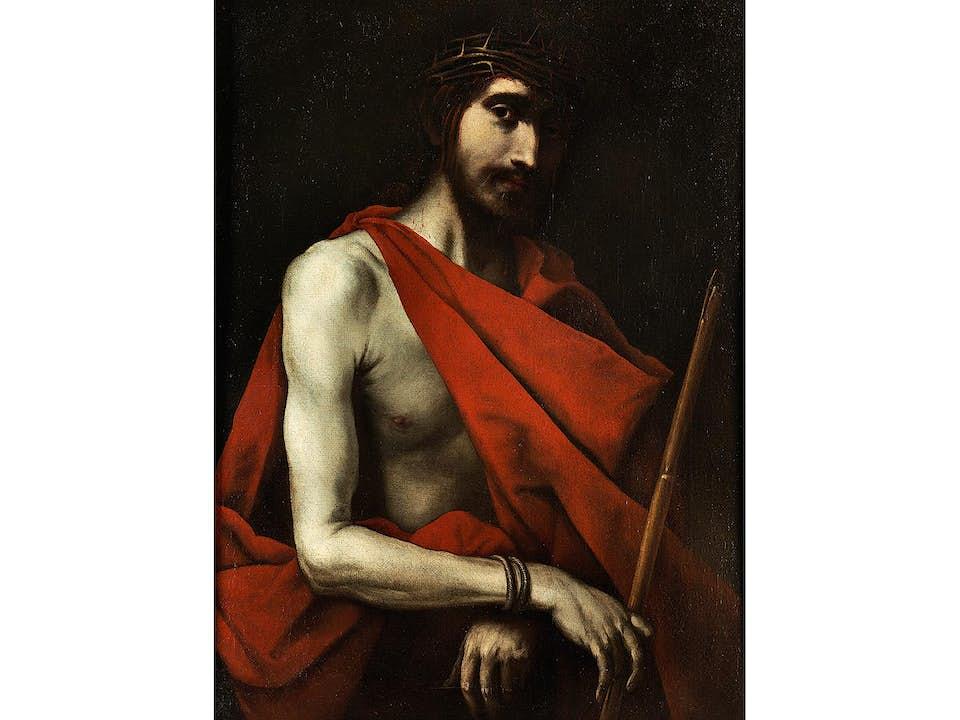 "Jusepe de Ribera, genannt ""lo Spagnoletto"", 1588/91 Jàtiva/ Valencia – 1652 Neapel"