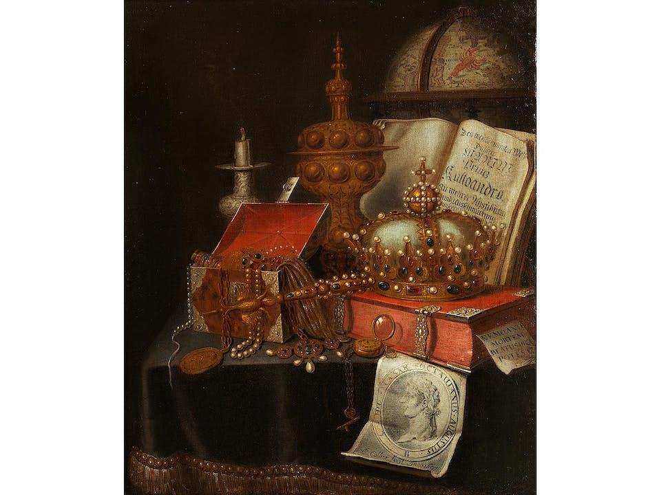 """Edwaert Collier, auch """"Edwaert Colyer"""", um 1640 Breda – 1708 London"""